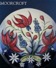 Boxed Moorcroft Pottery Wall Plaques