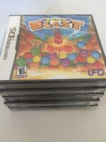 Rock Blast (Nintendo DS, 2008) DS NEW