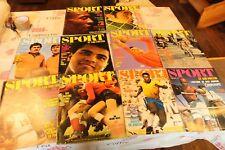 Lot de 10  magazines LE SPORT ET SON POSTER DU 1 AU 10 de 1971 ( sans poster)
