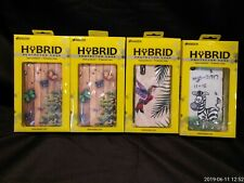 4x AMZER  HyBrid Protector Phone Cases Varying Styles NEW