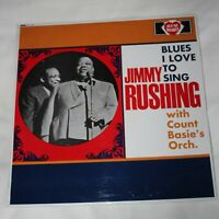 JIMMY RUSHING & COUNT BASIE'S ORCHESTRA. (UK, 1966, ACE OF HEARTS, AH.119)