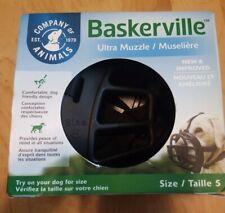 Baskerville Ultra Muzzle Black Size 5