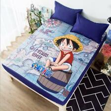 One Piece Luffy Ruffy Anime Manga Spannbettlaken Spannbetttücher Sheet Bedsheet