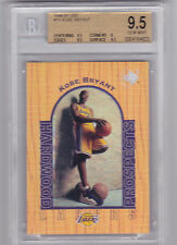 Autograph Upper Deck Kobe Bryant 9.5 Basketball Cards
