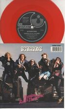 """THE SCORPIONS   Rare 1988 UK Only 7"""" OOP Red Wax Rock P/C Single """"Passion Rules"""""""