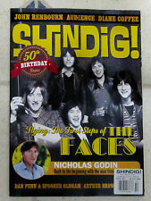 UK SHINDIG Magazine 2015 Issue No 50 ROD STEWART & FACES Ron Wood NICHOLAS GODIN