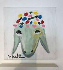 "Menashe Kadishman ORIGINAL WORK "" sheep """