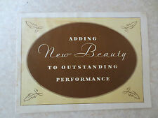 Original 1930 Model A Ford advertising booklet - Adding New Beauty ...