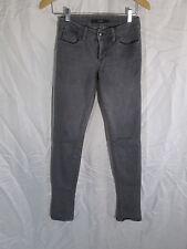 Joe's Jeans Chelsea Cut Low Rise Ultra Skinny Jeans Pewter Gray  Sz 25x33  #16