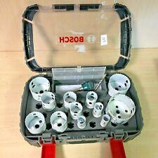 BOSCH Progressor HOLESAW Set Kit 9 Piece - 2608594189 - 3165140949583 D2