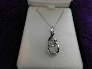 Kay Jewelers Double Infinity Necklace 925 w/ Case Jewelry Gift NIB