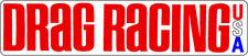 Drag Racing USA Magazine Vintage Hot Rat Rod Decal Sticker NHRA