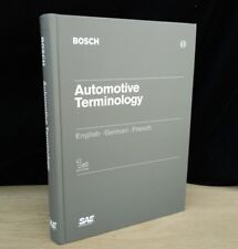 Bosch Automotive Terminology English French German First Edition ISBN 0768003385