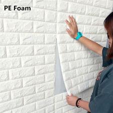3D Tile Brick Wall Stickers Self Adhesive Waterproof Foam Panel 30*30cm DIY
