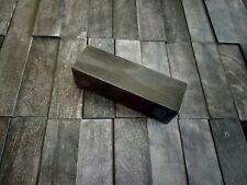 Block of stabilized wood, Hornbeam, 120x30x30, Black