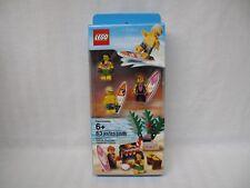 Lego 6010813 Set of 3 Hawaiian Surfer Hula Girl and Beach Series Minifigures NEW