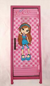 Lil Bratz Mini Locker Metal Storage Locker For Doll Clothes & Accessories 28cm