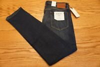 NWT MEN'S JACK & JONES JEANS Multiple Sizes Slim Fit Glenn Low Rise Blue Denim