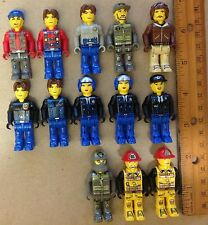 Lego Minifigures 13 Jack Stone discontinued retired solid one-piece figures