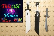 Lego NINJAGO WEAPON CHOICE NEW SWORDS No. 17 w/ SKULL POMMEL OR No. 11