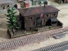 FALLER, WWII MILITARY TRAIN STATION, SCALE HO