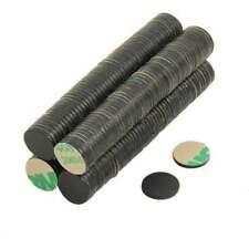 Adhesive Disc Magnet 10mm dia x 1mm N42 Black Epoxy- 0.45kg Pull (North) (x100)