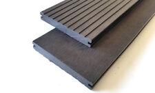WPC Terrassendiele Massivdielen geriffelt / Holzstruktur 20 x 140 mm