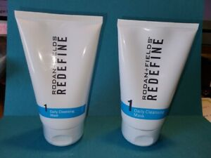Lot of 2 Rodan + Fields Redefine Daily Cleansing Mask Step 1 NEW 4.2oz
