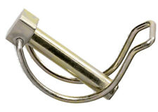 10 Stück Rohr Klappsplint 6,0 x 32mm für Rohr Ø28mm Klappstecker Klappsplinte