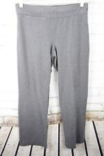 1ae408fc Lands' End Starfish Collection Pants Wide Leg Stretch Lounge Womens M 10-12  Gray
