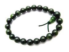 Armreif Armband Edelsteine Jade grün Kugel 8mm