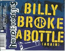 HEIDEROOSJES - Billy broke a bottle (Again) CDM 4TR HOLLAND 2001 VERY RARE!!