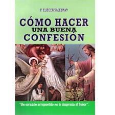 Como Hacer una Buena Confesion - P. Eliecer Salesman- Libro -Guia para Confesion