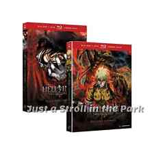 Hellsing Series Ultimate Collection Complete Volumes 1-8 BluRay DVD Combo Set(s)