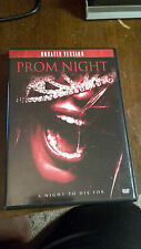 Prom Night (Unrated) DVD  Horror Movie