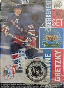 1999 Wayne Gretzky Upper Deck Retirement Set Factory Sealed