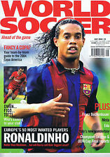 July World Soccer Magazines