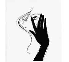 Rifle Paper Co. - Glove Fashion Sketch - Wall Art
