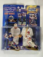 STARTING LINEUP CLASSIC DOUBLES 1998 SERIES MIKE PIAZZA & IVAN RODRIGUEZ