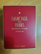 New Diamonds & Rubies Elizabeth Taylor for W .25 oz / 7.5ML PURE PARFUM Splash