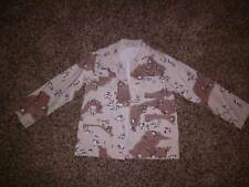 Boys Rothco Desert Camo BDU Shirt Blouse Jacket Kids SZ 18 (8-12 YO) MINT