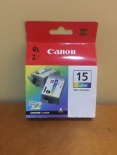 Canon BCI-15 Color Cartridge Twin Pack