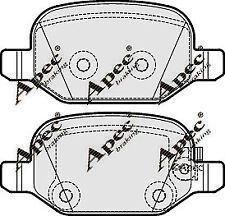 PAD1923 GENUINE APEC REAR BRAKE PADS FOR FIAT 500L
