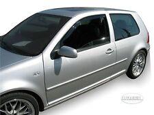 DVW31126 VW GOLF 4 mk4 3-türer 1997-2005 HEKO Windabweiser dunkel 2-tlg Satz