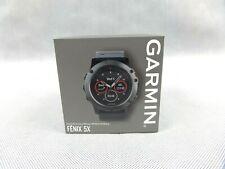 Garmin Fenix 5X Sapphire Edition GPS Watch With Mapping Brand New With Box