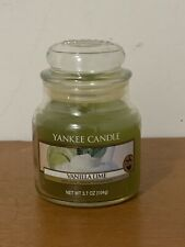NEW Yankee Candle VANILLA LIME Small 3.7 oz Jar Candle - RARE SIZE & SCENT