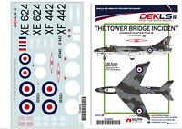 "1/48 Hawker Hunter - RAF ""The Tower Bridge Incident"" Decals  DEK L's II"