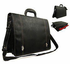 High QUALITY Faux Leather business VALIGETTA DOTTORE pilota Custodia Laptop Borsa Lavoro