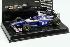 Jacques Villeneuve Williams FW19 #3 WORLD CHAMPION FORMULA 1 1997 1:43