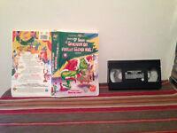 Le grincheux qui voulait gacher noel VHS tape & clamshell case FRENCH